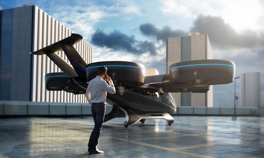 Bienvenue dans le futur : les taxis volants d'Uber prévus pour 2023