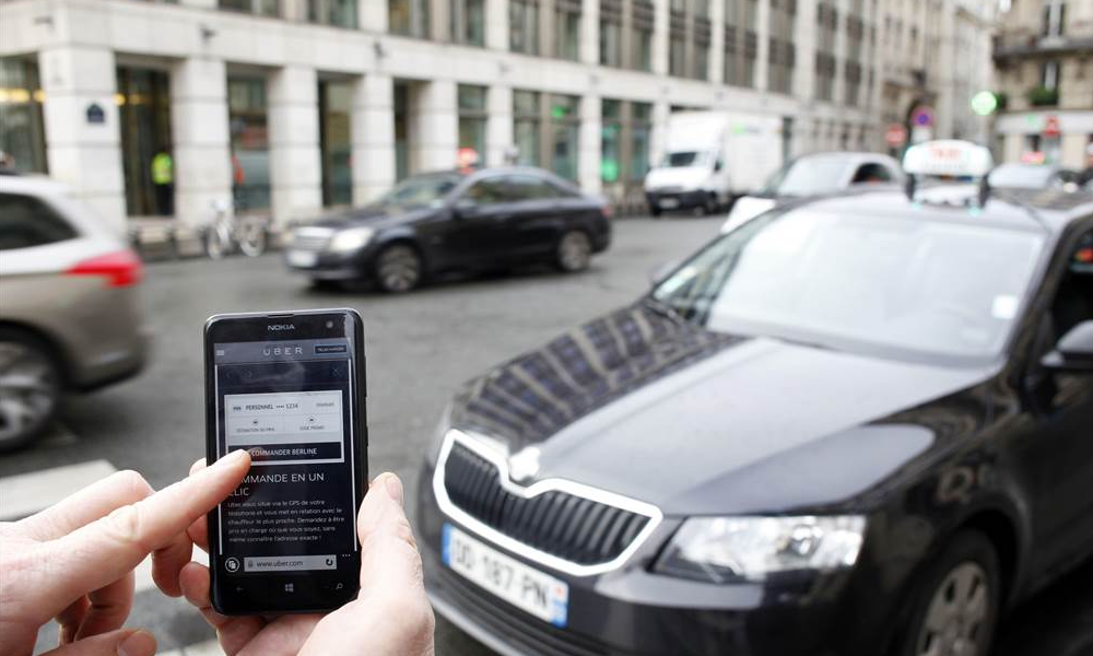 Uber app vs taxi