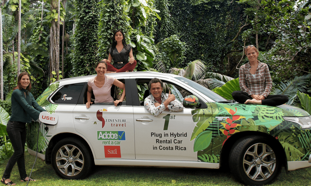 Champion de l'énergie verte, le Costa Rica mise tout sur la voiture électrique