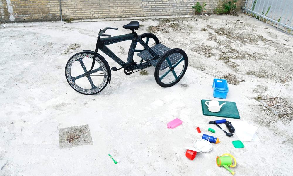 À Mexico, les déchets urbains sont transformés en tricycles