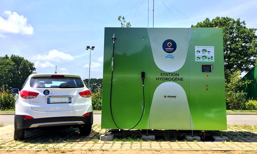 Ils inventent une station de recharge qui produit son propre hydrogène