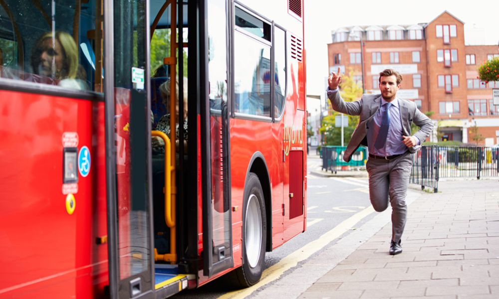 Fini de courir : une startup invente le bus à la demande