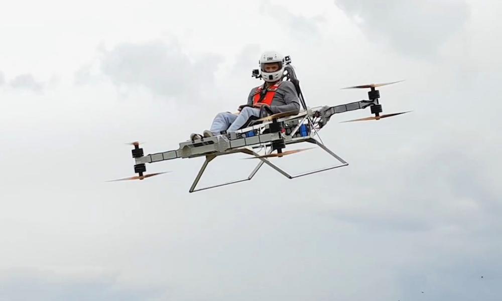 Drone Copter Speeder