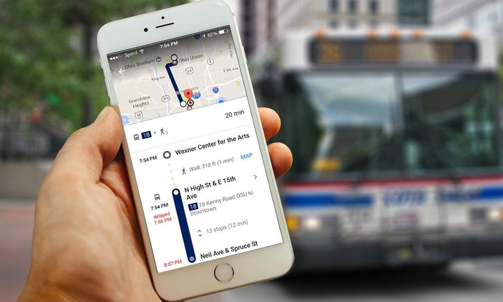 Google Maps facilite enfin les déplacement en transports en commun