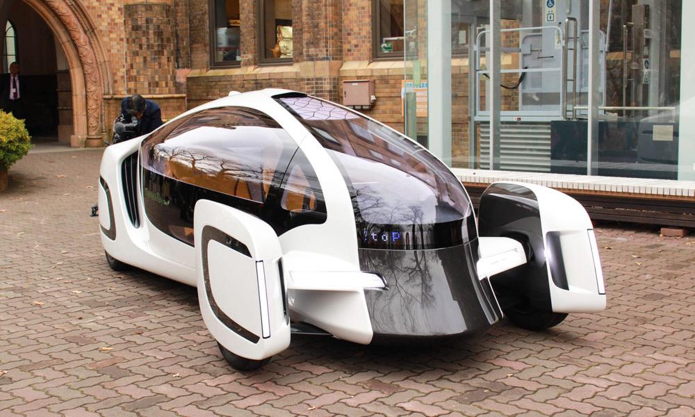 Made in Japan : voici la plus légère des voitures électriques