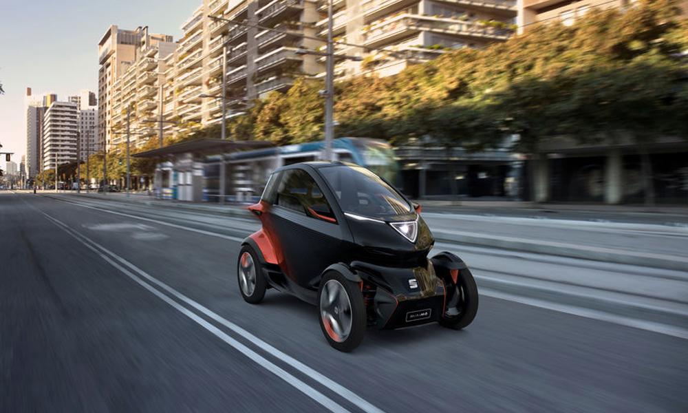 Cette mini-voiture électrique annonce le début de la mobilité partagée