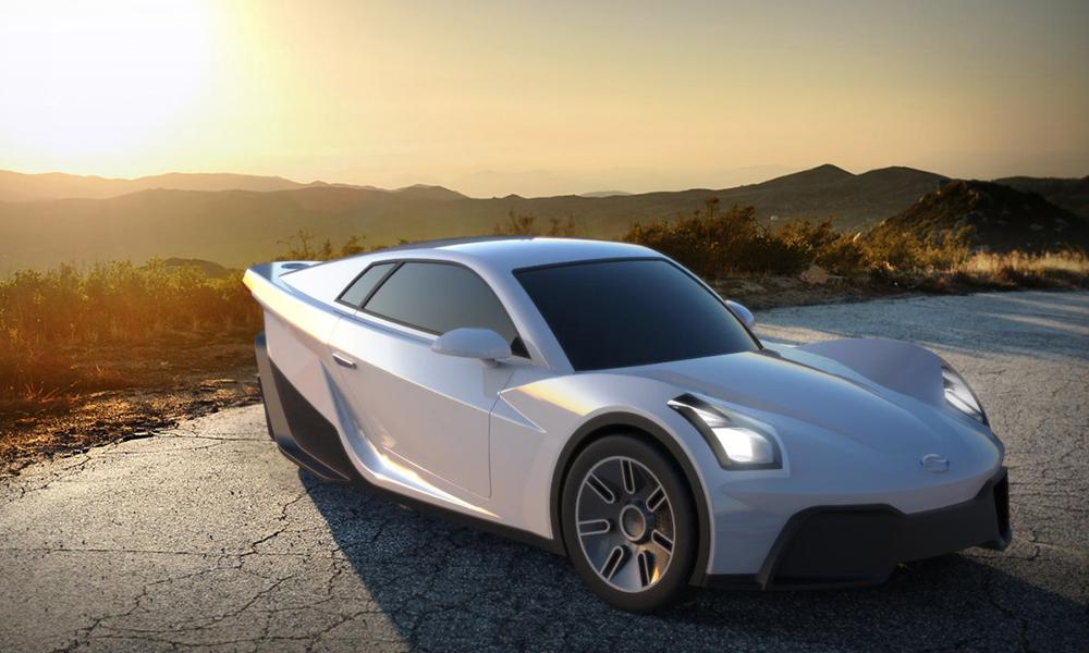 Pour 9000 euros, cette voiture électrique à trois roues est à vous