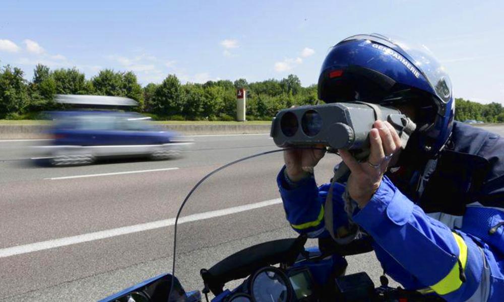 Il y avait moins d'excès de vitesse à 90 km/h