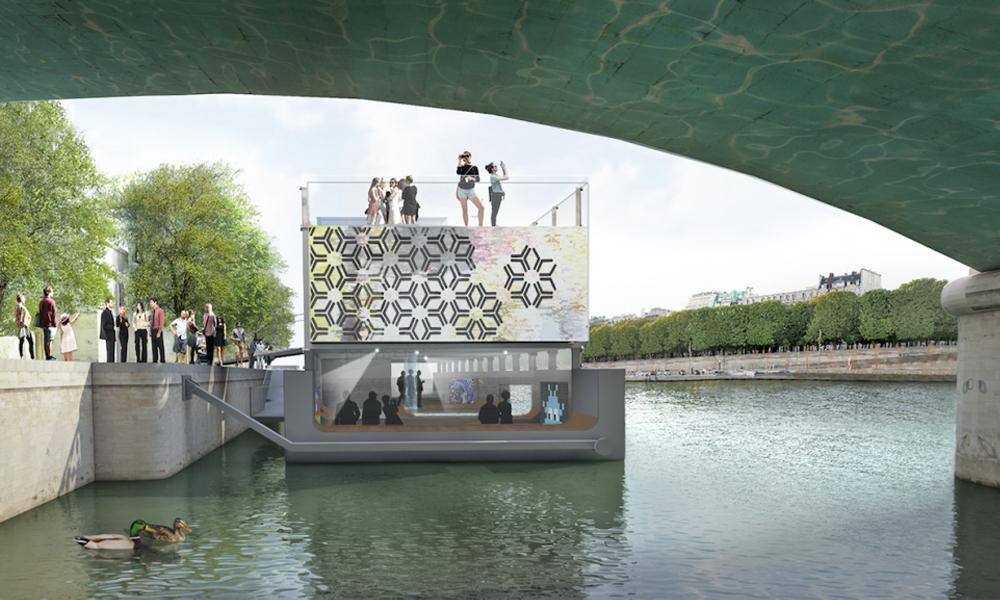 Le premier musée flottant au monde va ouvrir à Paris