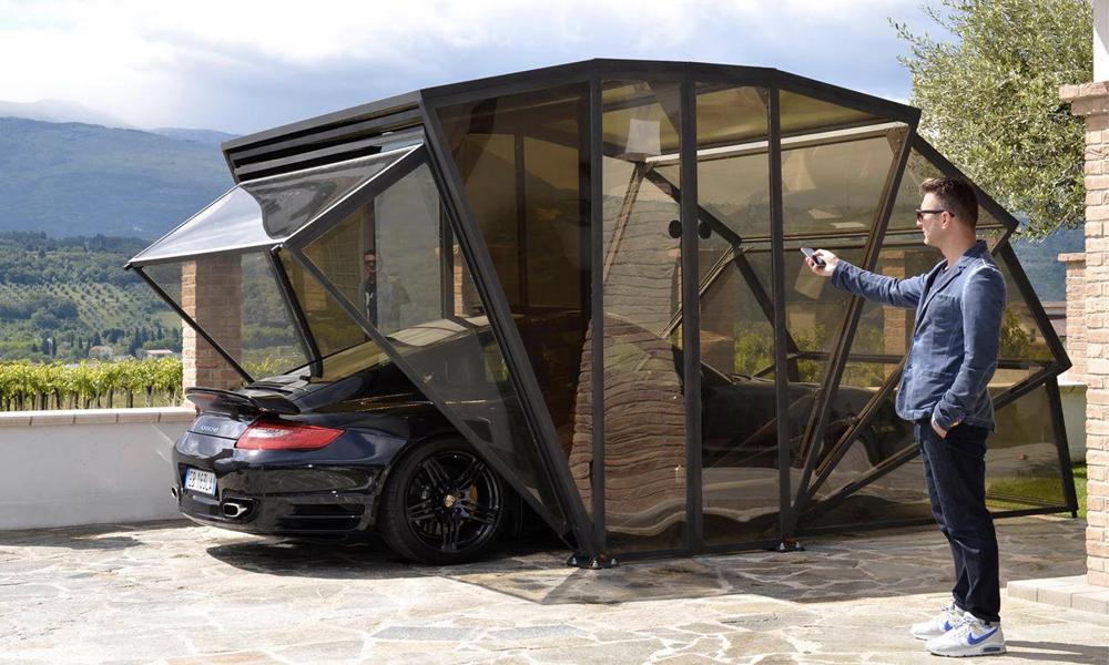 5 garages dingues pour vous donner envie de planquer votre voiture
