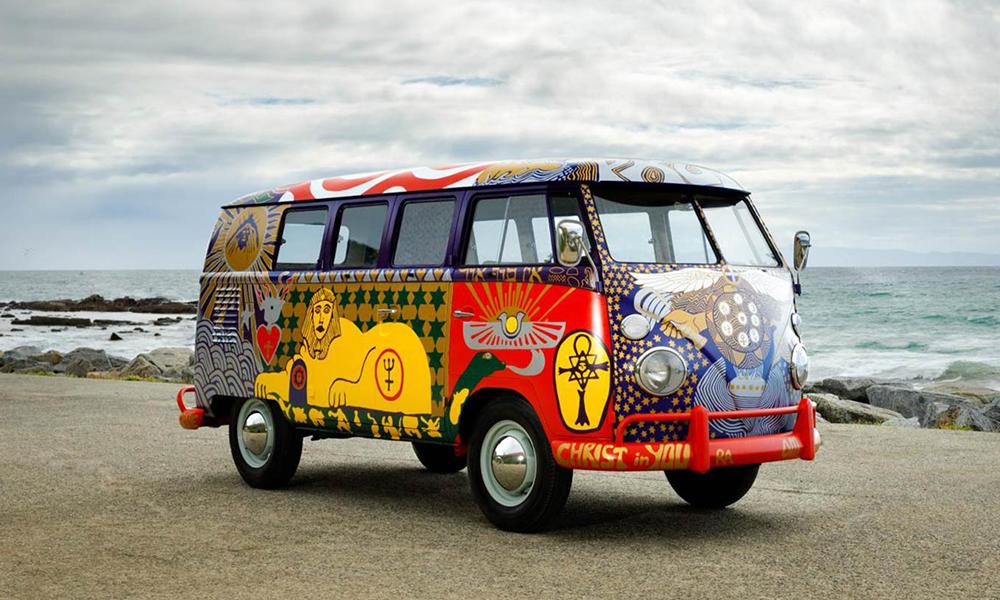 Le mythique Combi VW de retour pour les 50 ans du festival de Woodstock