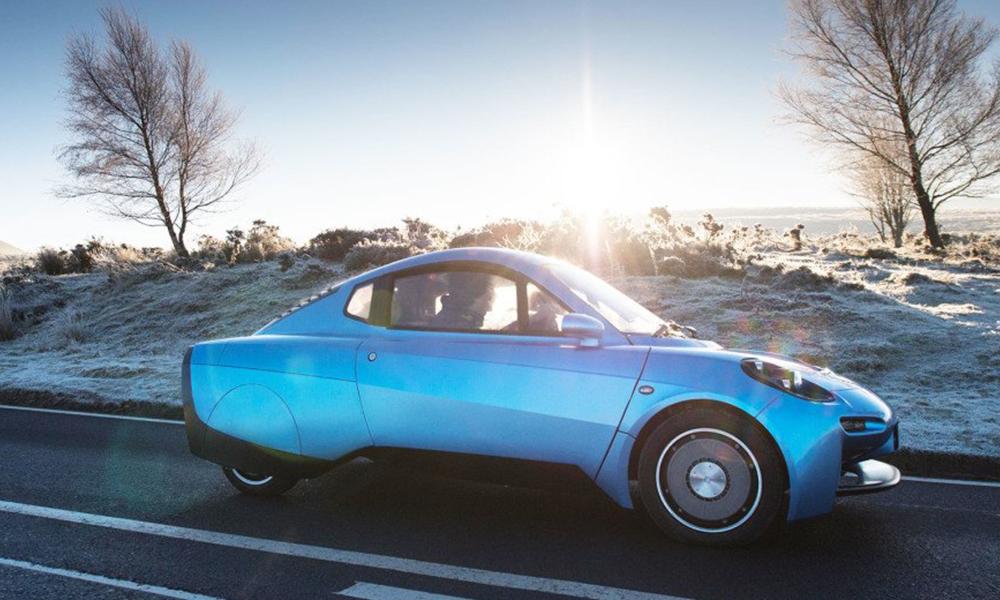 Avec cette voiture à hydrogène, on fait son plein gratuitement