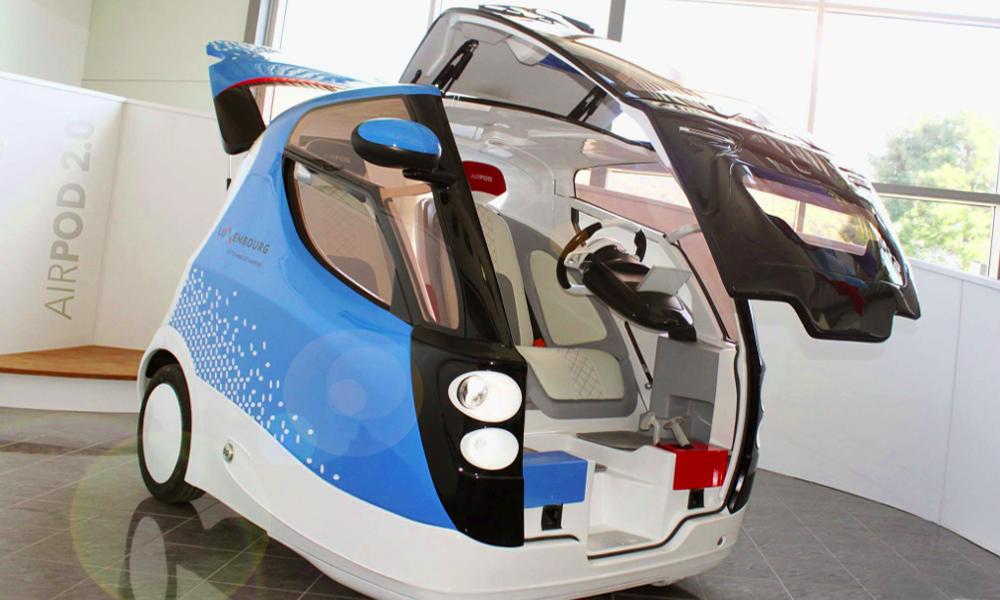 Cette mini voiture inventée par des Niçois se recharge avec… de l'air
