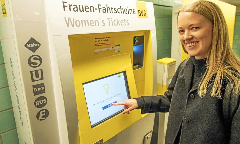 En Allemagne, les femmes paient le métro moins cher (une fois par an)