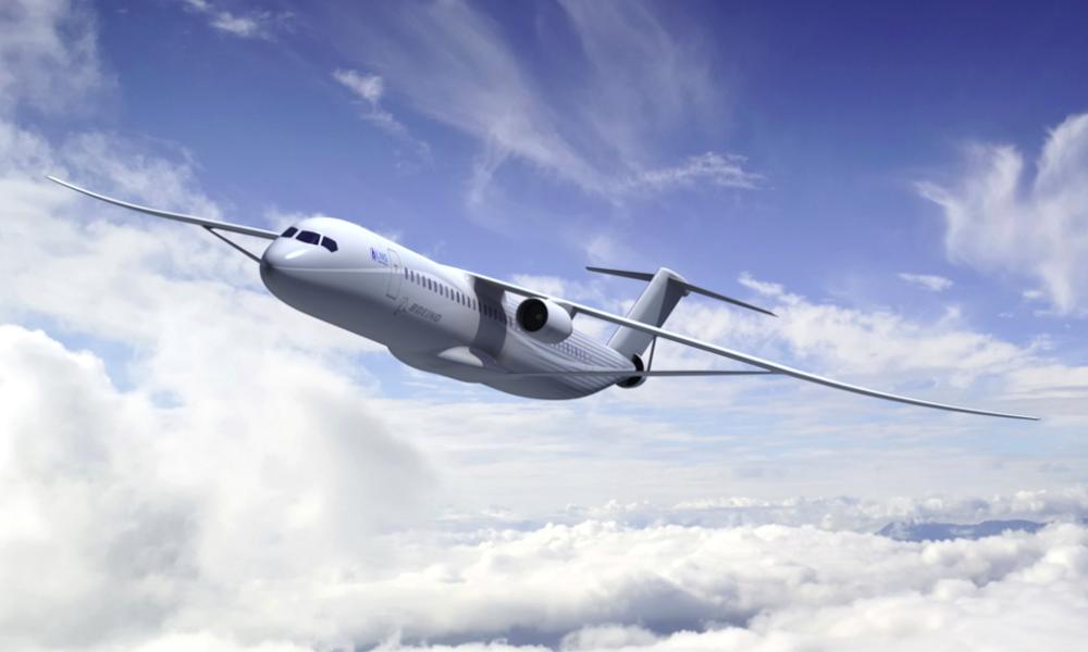 Boeing développe enfin un avion 70% moins polluant