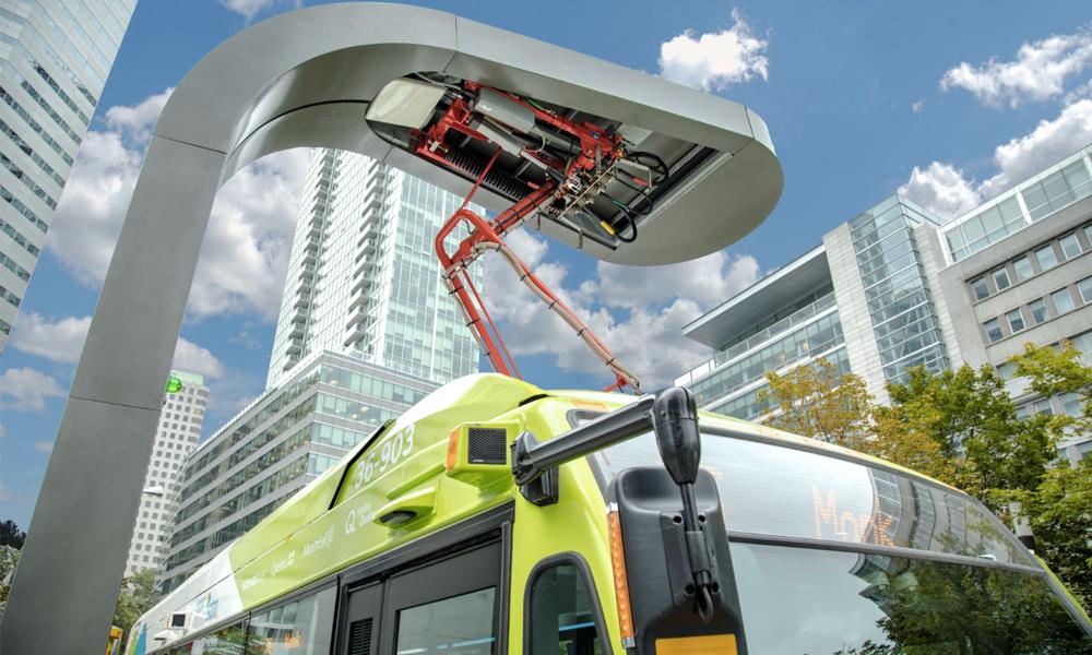 Un système pour recharger les bus électriques en seulement 5 minutes