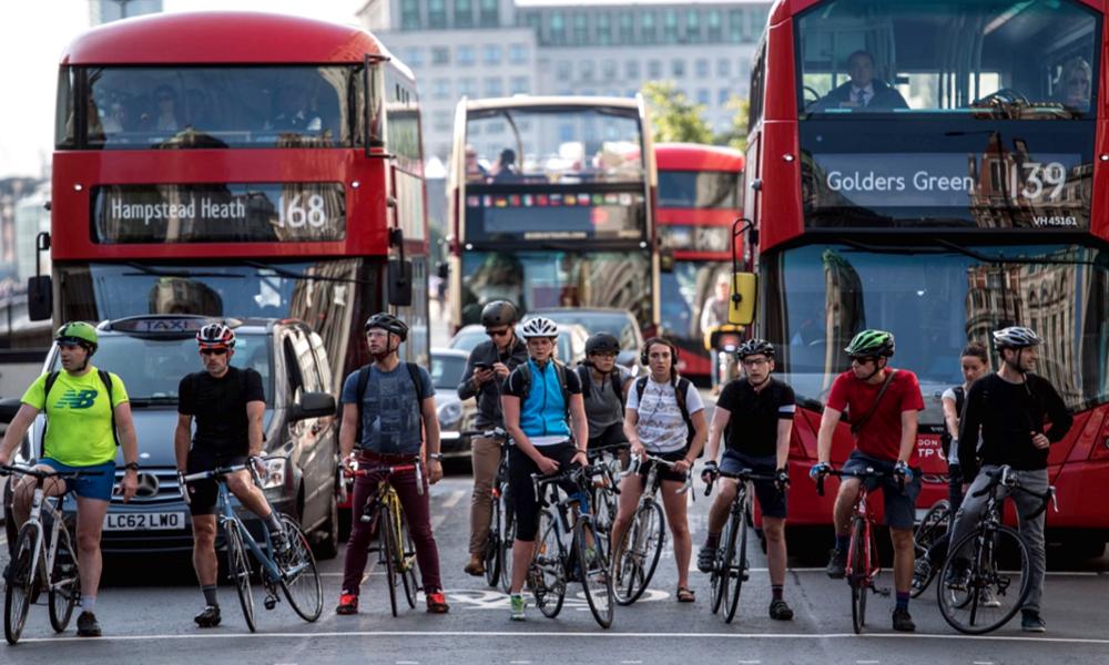 Pollution : Londres veut multiplier le nombre de cyclistes par deux