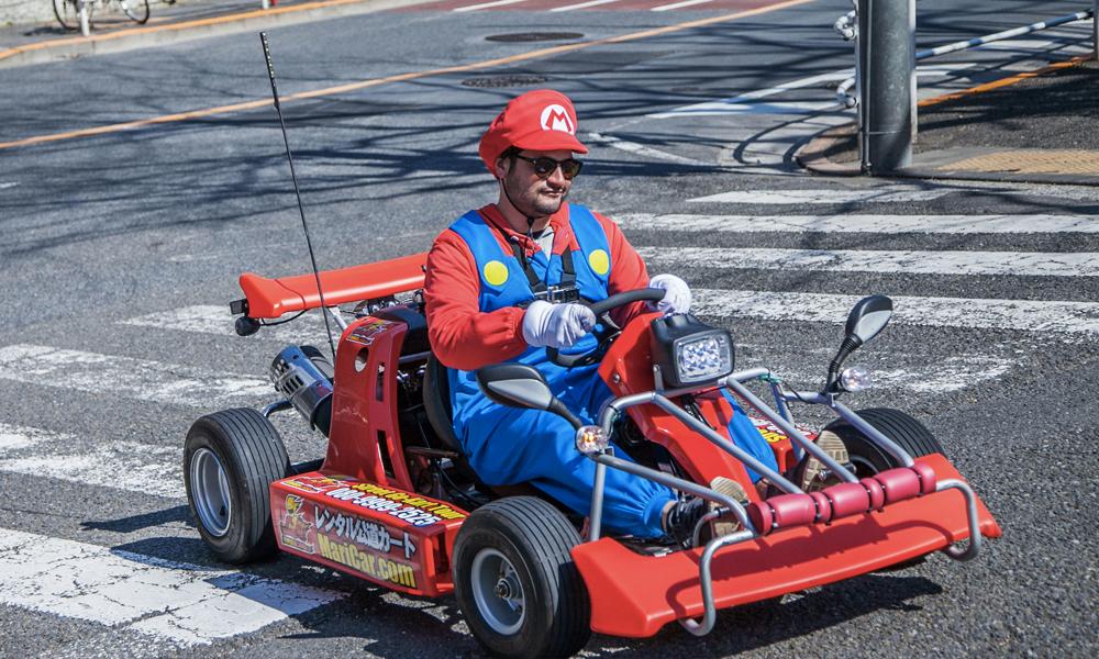 """Une gigantesque partie de """"Mario Kart"""" va être organisée à Paris"""