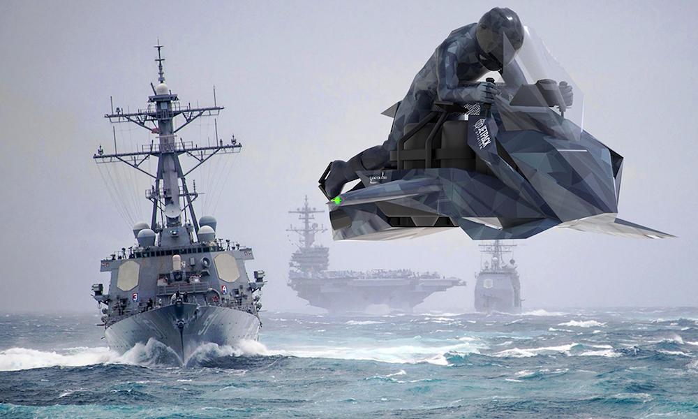 """240 km/h dans les airs : cette moto """"Star Wars"""" est à vendre"""