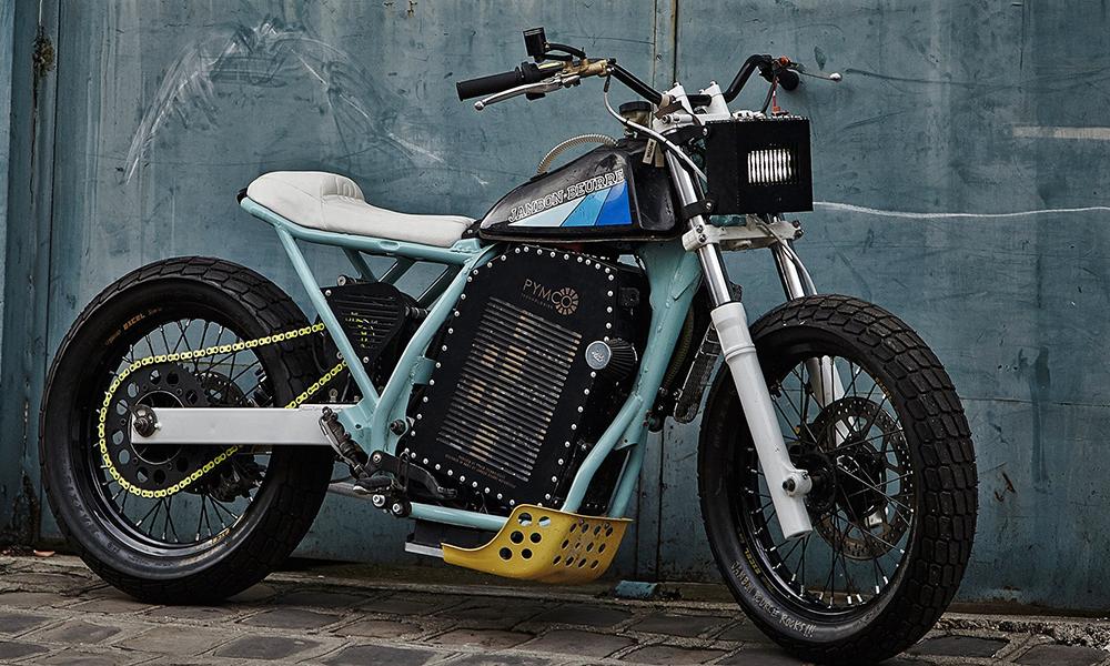 Des Parisiens créent la première moto électrique 100% customisable