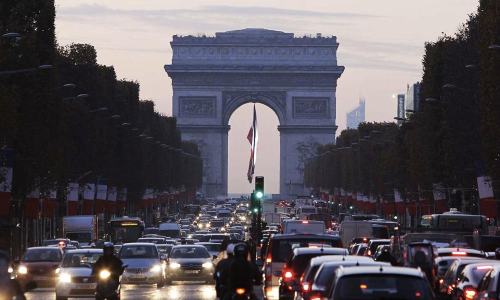 Le saviez-vous ? Depuis 2001, la circulation a baissé de 34% à Paris