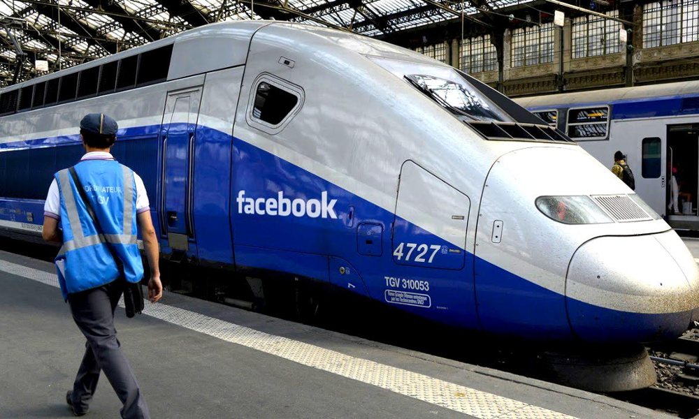 Réserver tous ses billets de train par Facebook ? Maintenant, c'est possible