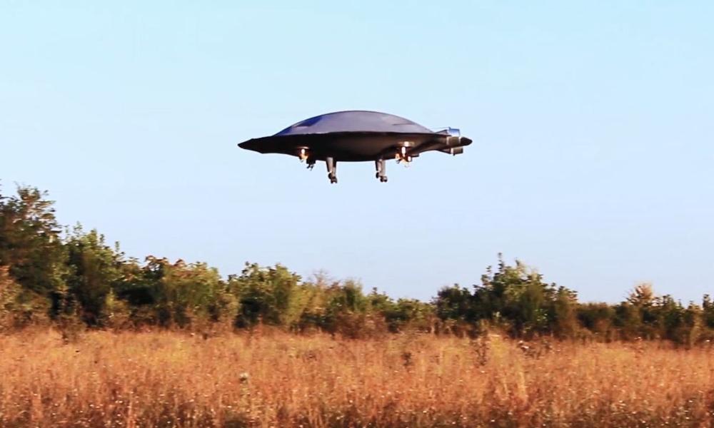 Des Roumains créent la soucoupe volante supersonique