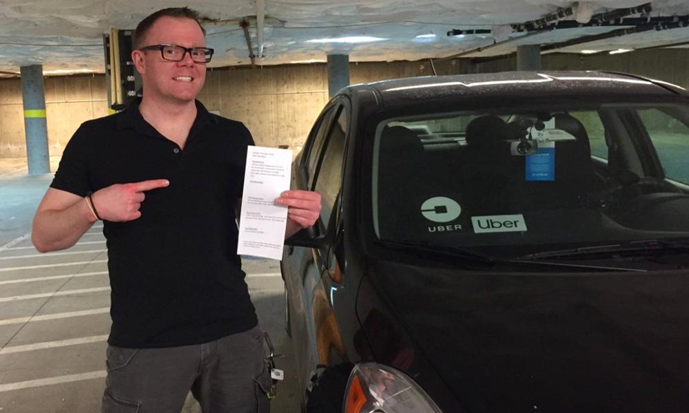 Inquiétant, blagueur ou insultant : ce chauffeur Uber vous laisse choisir son attitude