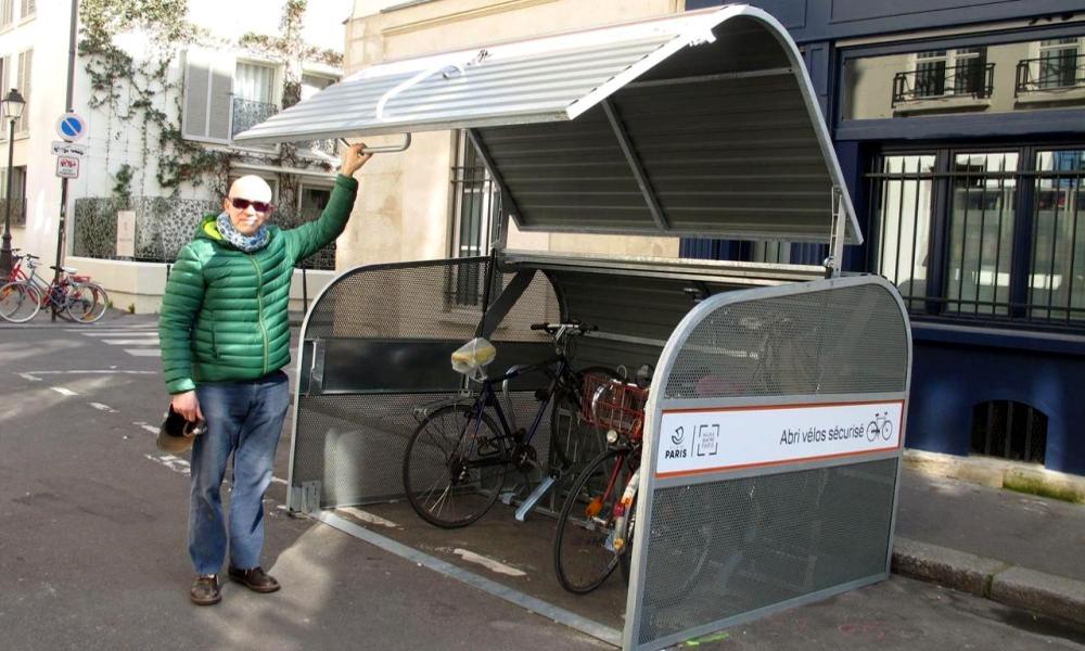 Marre des vols de vélos ? Paris vous offre des abris (pour 8 € par mois)
