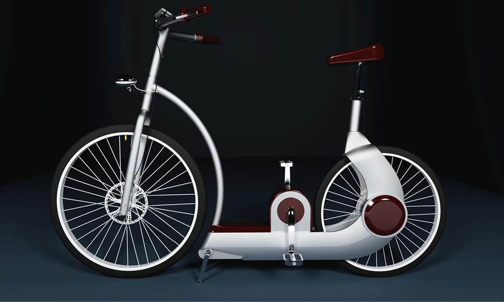 """""""Made in France"""" : un vélo électrique qui se recharge tout seul"""