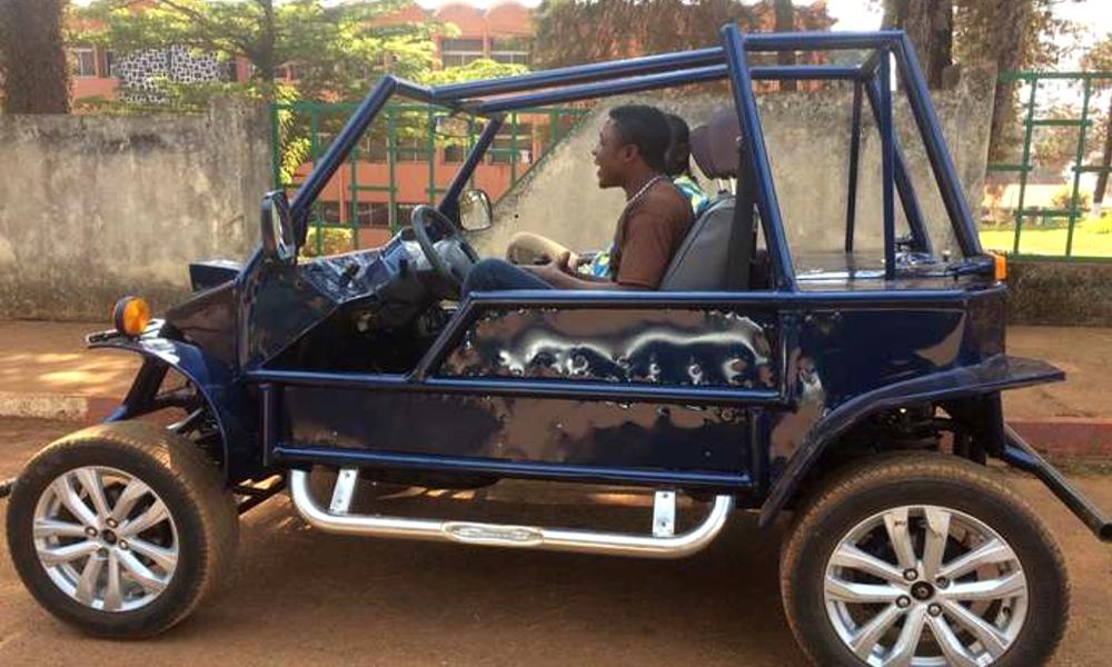 """A 27 ans, il devient une star en fabriquant la première voiture """"made in Cameroun"""""""