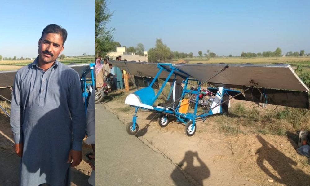 Il construit son propre avion en regardant une émission de télé