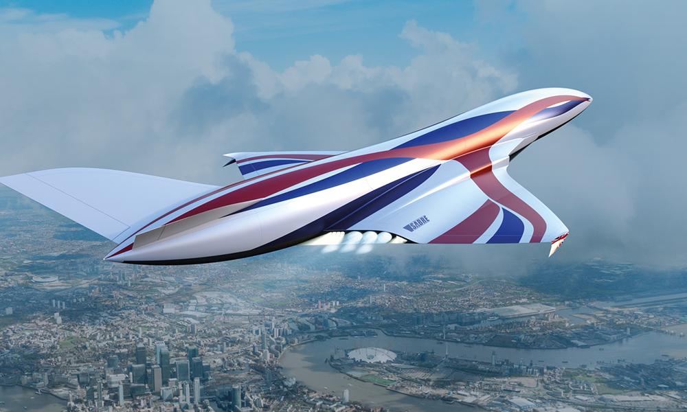 Des Anglais testent un supersonique qui carburerait à l'air