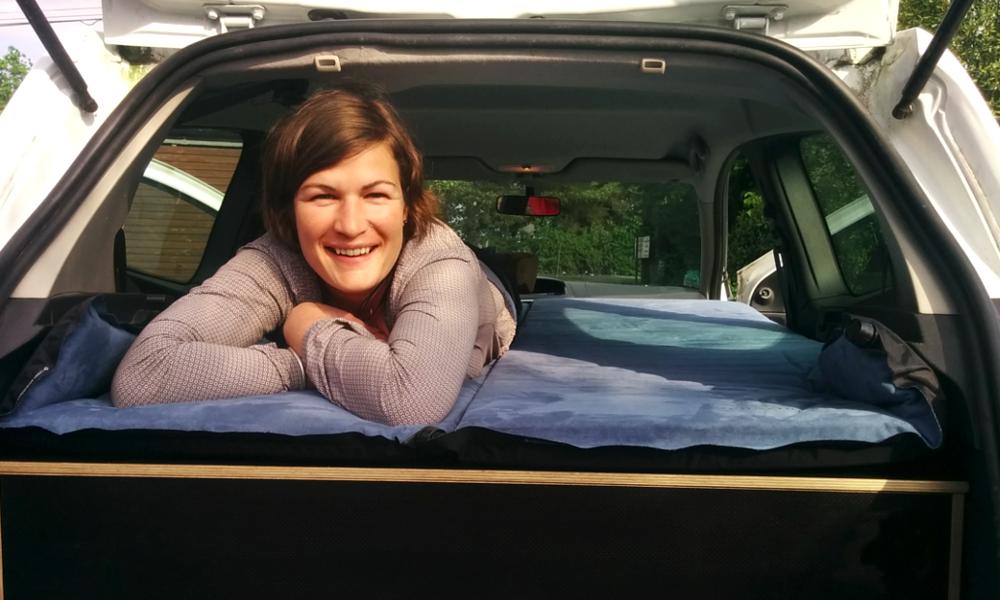 The Camper Box : un kit pour transformer n'importe quelle voiture en chambre d'hôtel