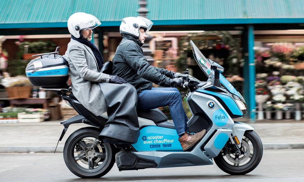 Felix, le service de scooter électrique qui vous fait gagner du temps