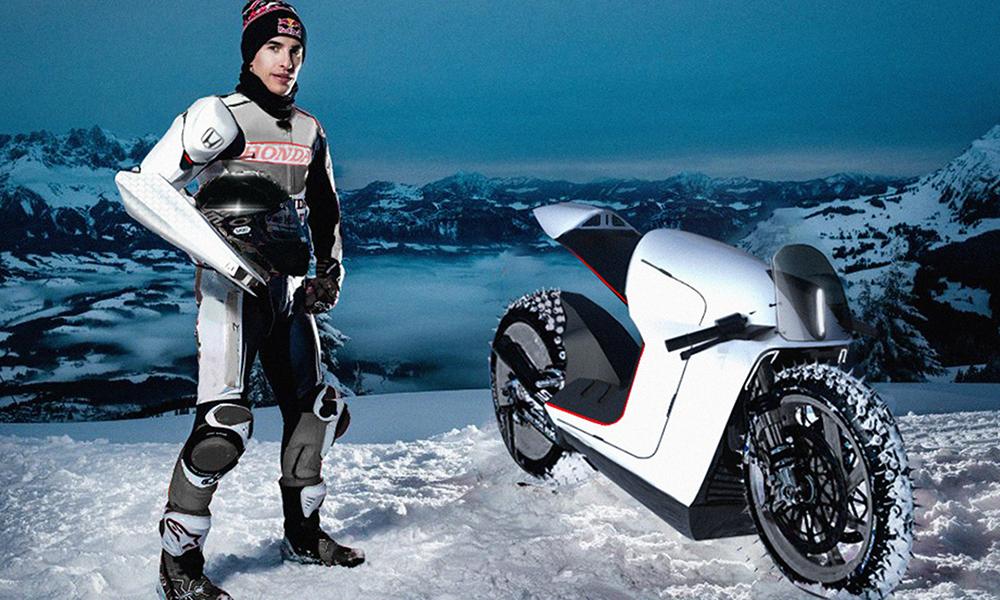 Cette moto bionique est conçue pour les personnes amputées des bras