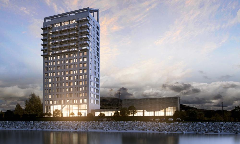 """""""Made in Norvège"""" : voici le plus haut bâtiment en bois du monde"""
