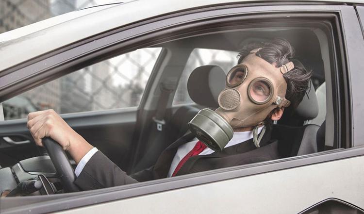 Scientifiquement prouvé : rouler fenêtres fermées, c'est bon pour la santé