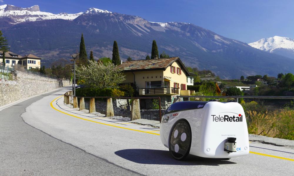 Ce robot autonome livre les courses à la campagne