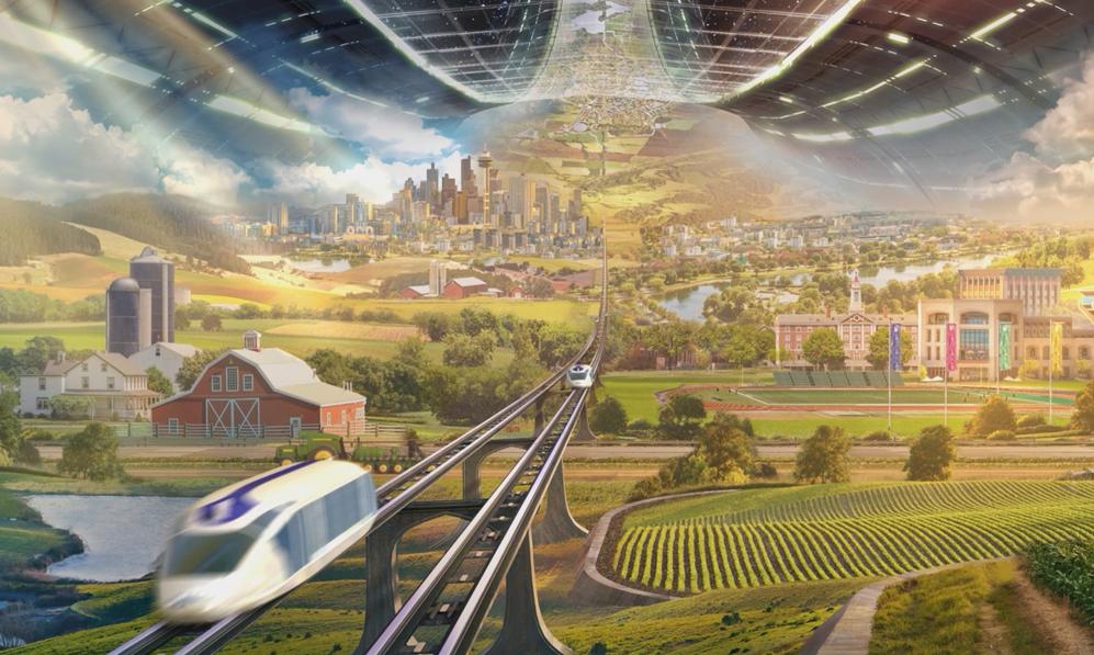 Le patron d'Amazon veut créer des colonies spatiales transportant 1000 milliards d'humains