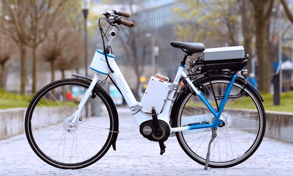 Des Hollandais inventent le premier vélo électrique qui ne chute jamais