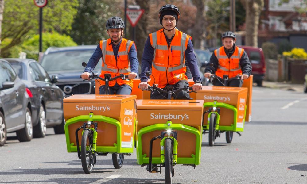 À Londres, les vélos-cargos ont déjà remplacé les camions de livraison