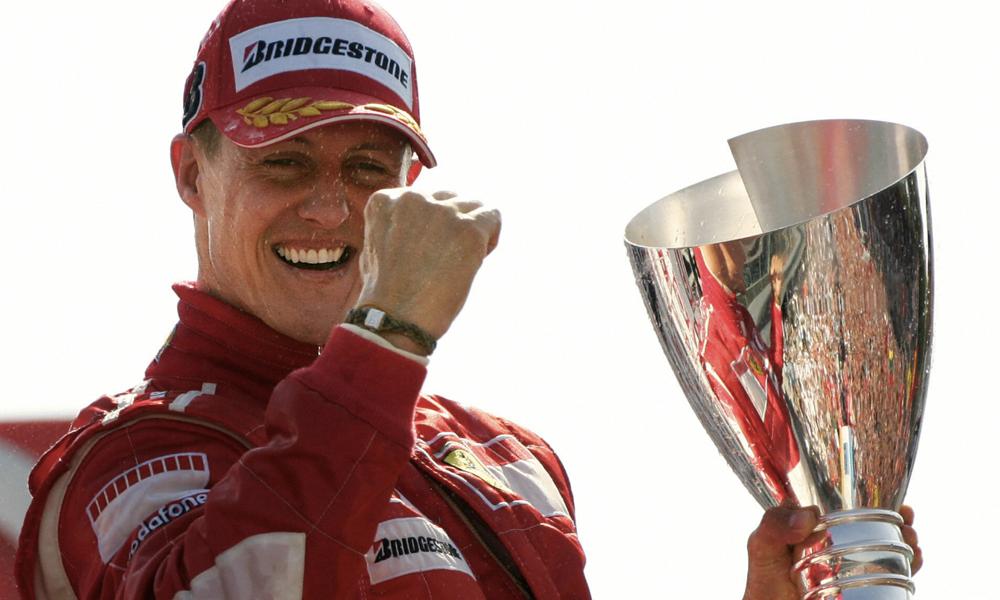 """Arrêté pour excès de vitesse, il dit être """"possédé par l'esprit de Michael Schumacher"""""""