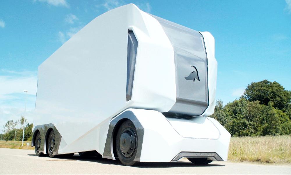 En Suède, le premier camion autonome a commencé ses livraisons