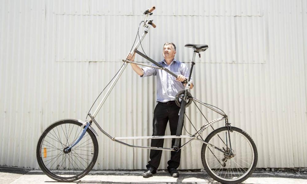 """Toujours plus loin, toujours plus haut : voici les """"tall bikes"""""""