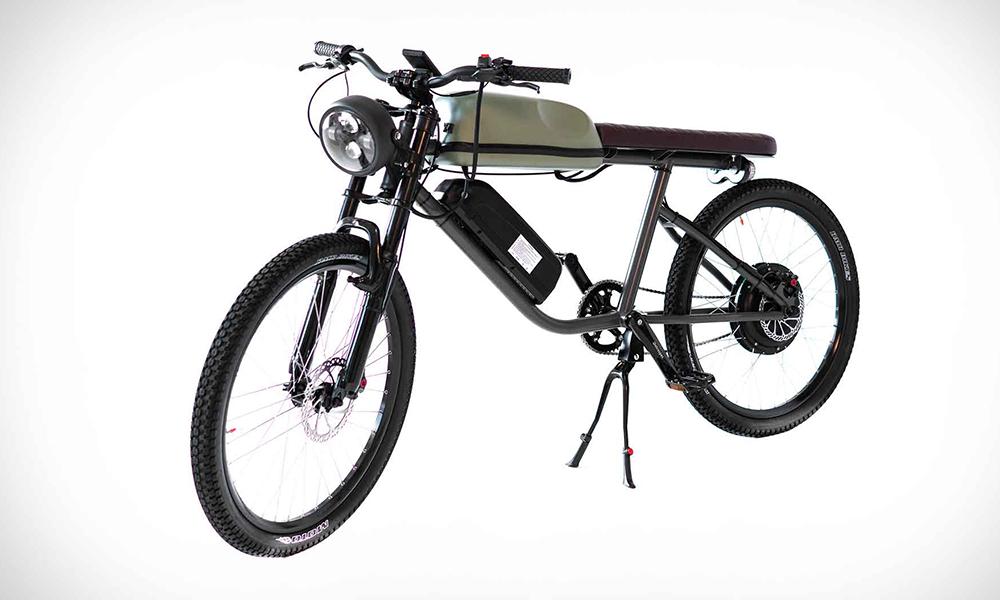Titan R, le vélo électrique aux airs de Mobylette