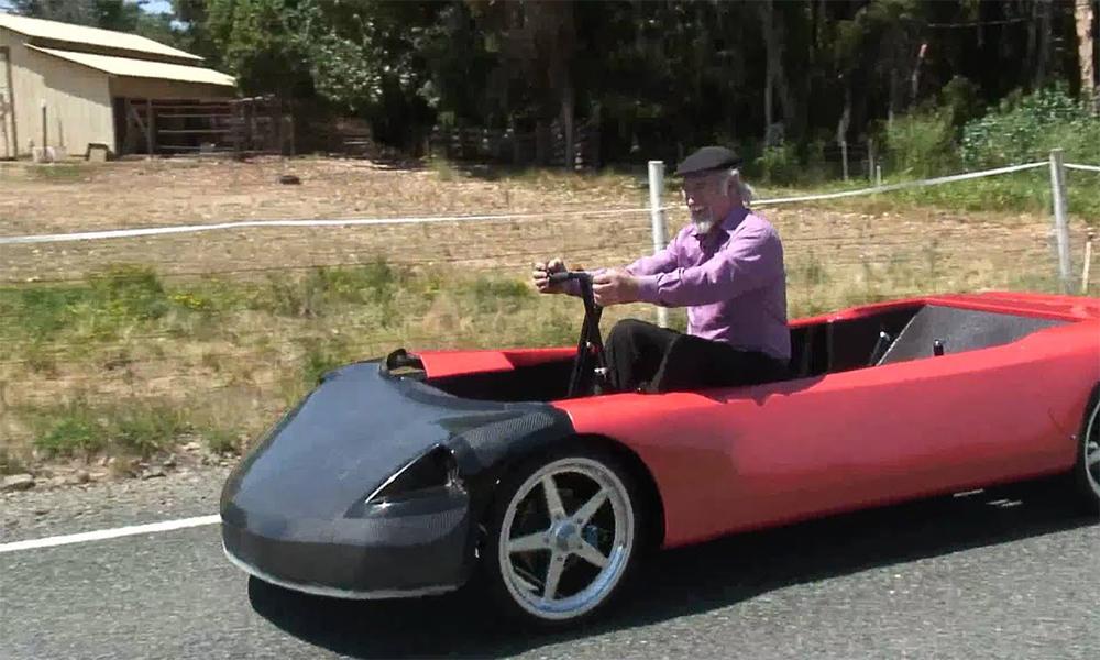 Ni essence ni électricité : cette voiture se recharge avec vos bras