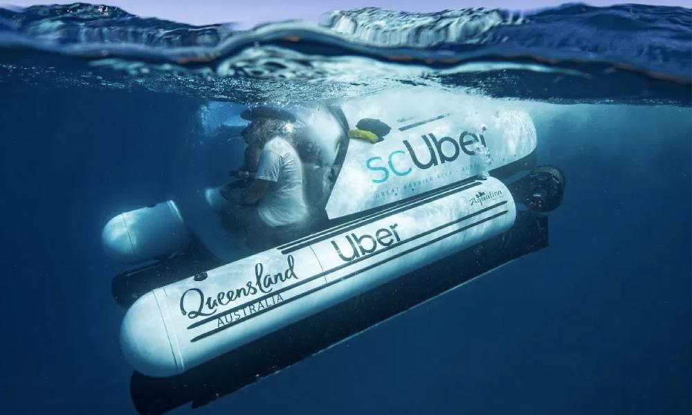 Qui veut visiter la Grande Barrière de corail dans un sous-marin Uber ?