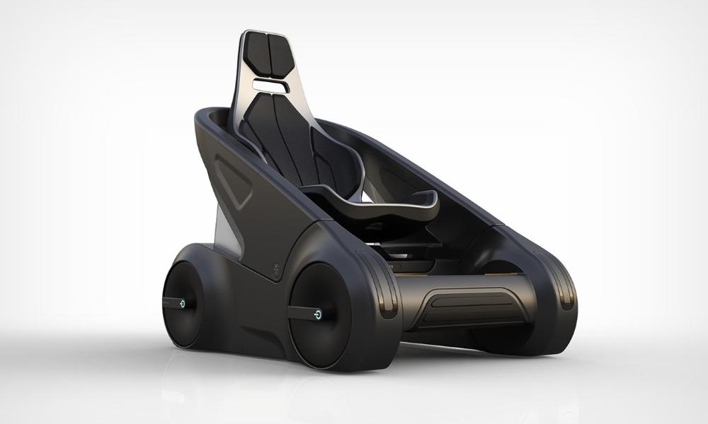 La voiture du futur, c'est cette poussette géante électrique