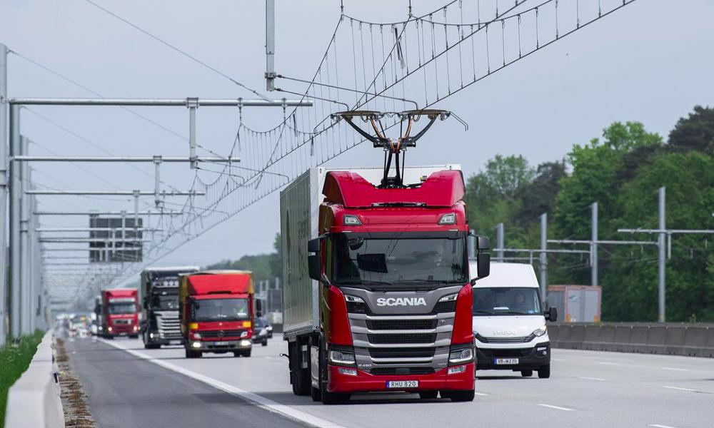 L'Allemagne teste les autoroutes électriques pour les camions